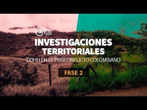 Resultados II Fase DD. HH en el posconflicto colombiano