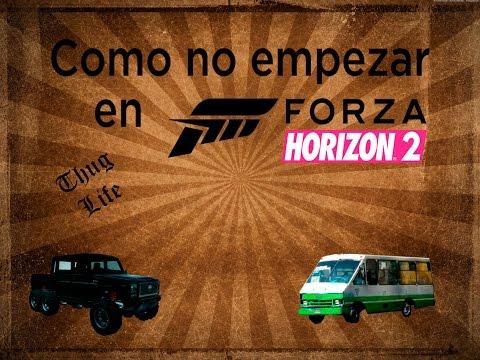 Parodia | Como NO Empezar En Forza Horizon 2 | Guia Basica