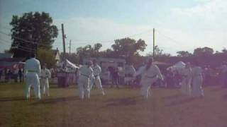 Ohio Valley Tae Kwon Do demo at Milltown Indiana