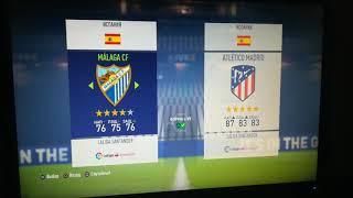Малага Атлетико Мадрид прогноз на матч и ставки на спорт