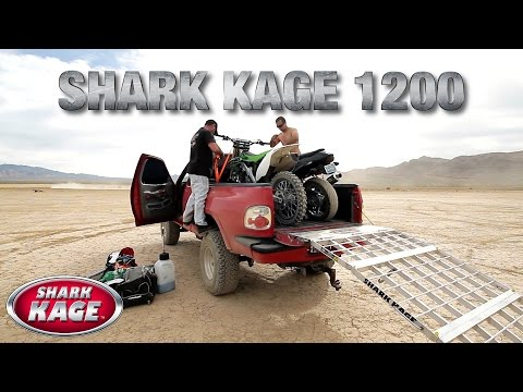 Shark Kage™ 1200 Aluminum Truck Ramps - #1 in Safety and Function
