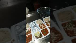 Sharma tandoori dhaba thali packing