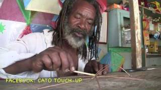 HOW TO MAKE KITE MAKING WITH JOE IN GRENADA 2010 TOUCH-UP TV