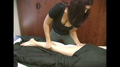 Full Body Massage Therapy Techniques Part 4, Legs Lower Calfs & Upper Thighs
