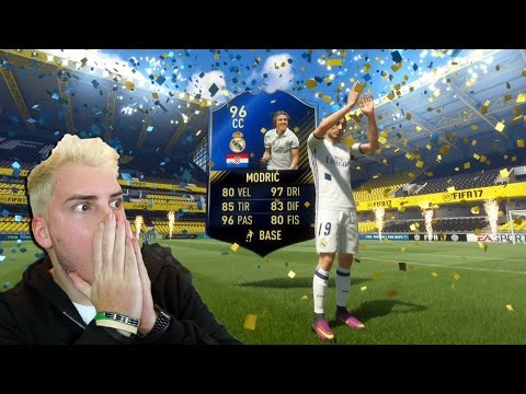 MODRIC TOTY IN A PACK!!! - HO TROVATO TUTTO!! - EPIC TOTY PACK OPENING - FIFA 17 ULTIMATE TEAM
