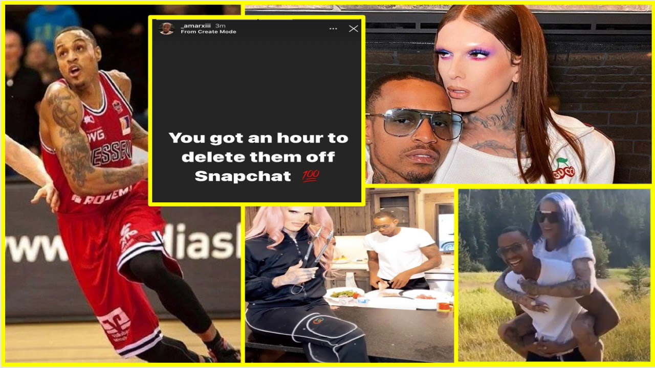 Jeffree Star Exposed By His Black Boyfriend Andre Marhold