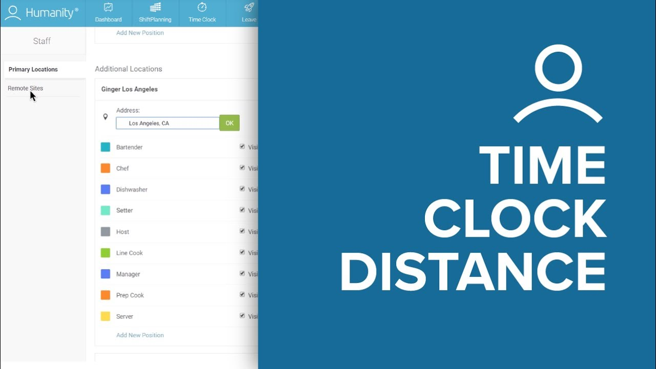 time clock distance calculations humanity online employee
