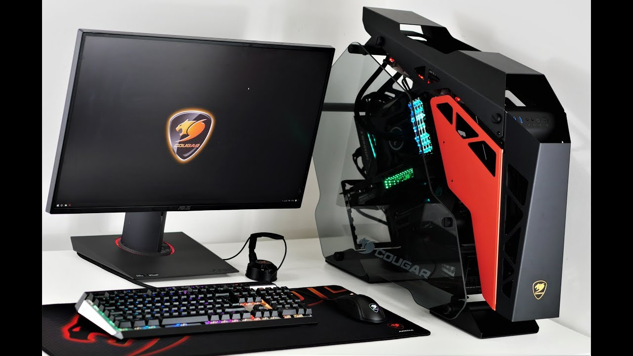 3000€ Ultimate Gaming PC | Cougar Conquer ROG Build Timpe lapse