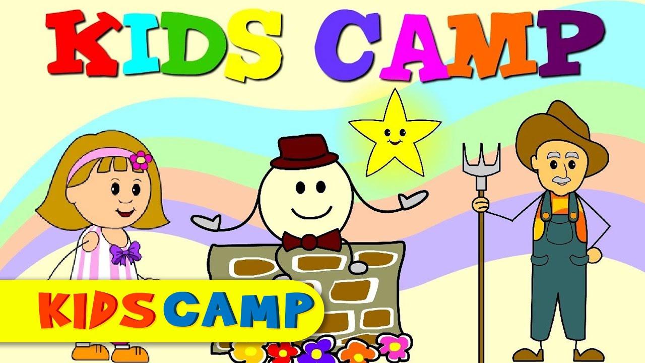 Kids Camp Nursery Rhymes - Channel Trailer - YouTube