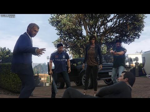 GTA 5 (PS4) - Mission #6 - Marriage Counseling [Gold Medal]