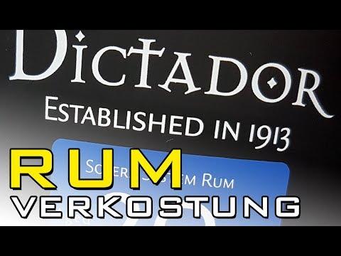 Rum Tasting - DICTADOR SOLERA 20YO - Rum Verkostung / Rum Review