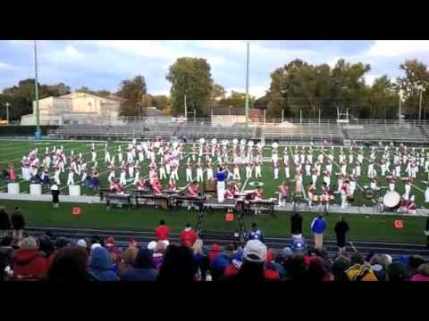 Marysville High School Marching Band 10-1-2011