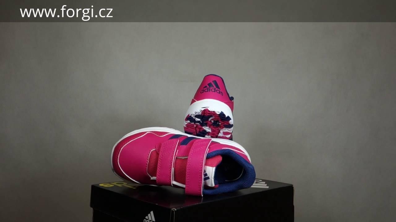 Dětské boty adidas Performance Snice 4 CF I AF4352 - YouTube e270b8716a