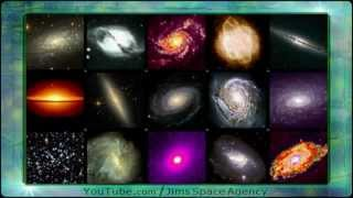 Galaxies and Universe and Space Aliens UFOs Proof
