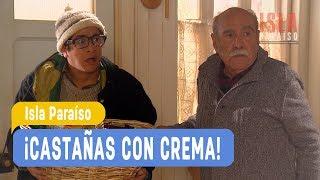 Isla Paraiso - !Castanas con crema! Angelina y Juan Luis