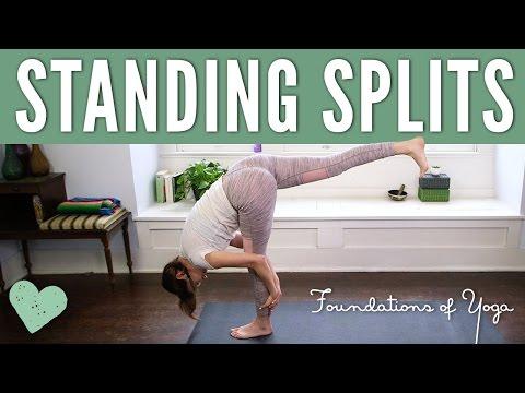 Standing Splits - Foundations Of Yoga
