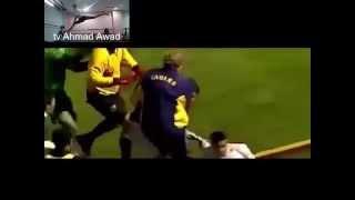 افضل فيديو عن قتال لاعبي كرة القدم  كونفو وتايكواندو