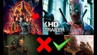 Trailer Final Deadpool 2 - XMEN En La Fase 4 Del UCM - Wolverine En Infinity War? - Thanos O Cable