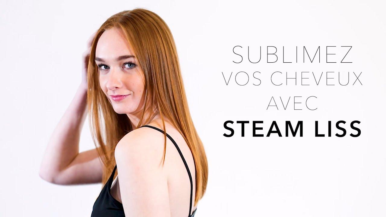 STEAM LISS, le nouveau service coiffage vapeur par Lothmann Paris