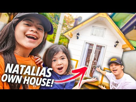 SURPRISING Natalia With Her OWN NEW HOUSE!! | Ranz And Niana