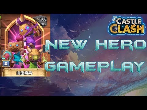 New Hero Maxed Out Gameplay | #UPDATE - Castle Clash