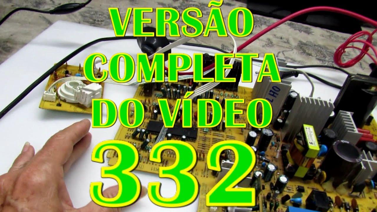 Conserto de um TV SEMP TOSHIBA com vários defeitos vindo de outra oficina-#335