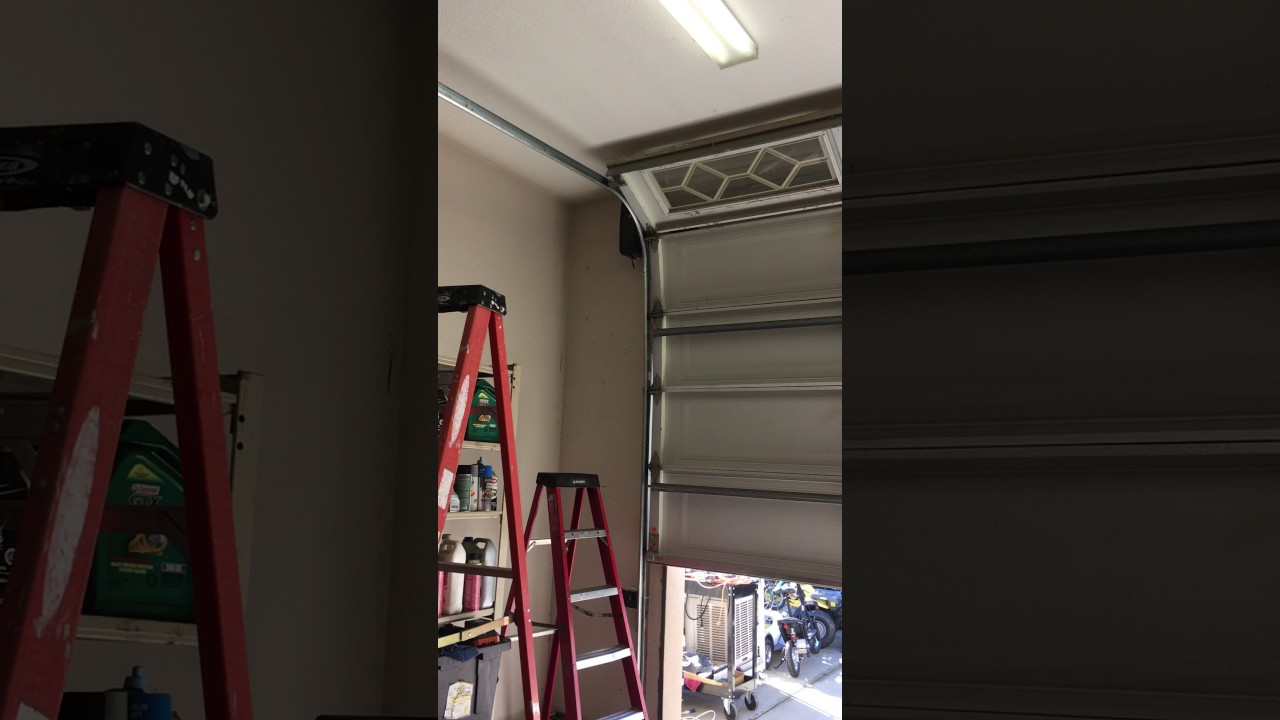 LiftMaster 8500 High Lift Garage Door 2017