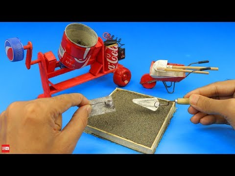 How to Make an Awesome Mini Trowel for bricklaying - Mini Construction Tools thumbnail