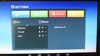 Latest Android KitKat 4.4.2 stock firmware installed on Vigica P3S TV Box