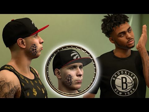 NBA 2K18 MY CAREER! DEANGELO RUSSELL TELLS ME TO GET A FACE TATTOO!