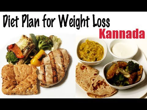 1900 Calories Diet For Weight Loss Kannada Youtube
