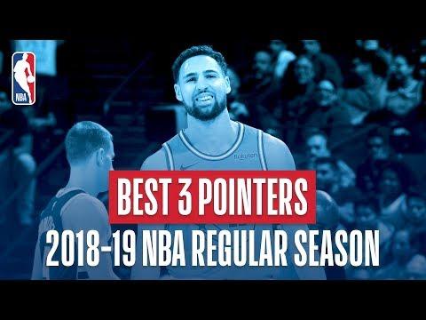 NBA's Best Three Pointers | 2018-19 NBA Regular Season