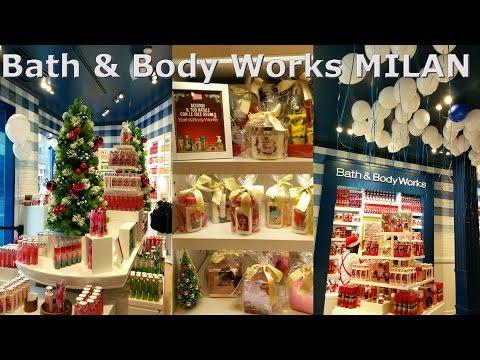 Apertura Negozio Bath and Body Works Milano!!!!! (ITA)