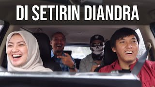 Ketika Diandra Nyetir Mobil