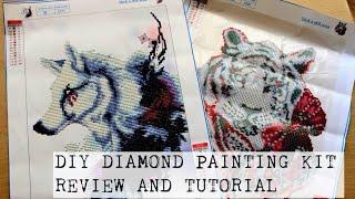 DIY Diamond Painting Kit Tutorial And Review | PassionFruitDIY