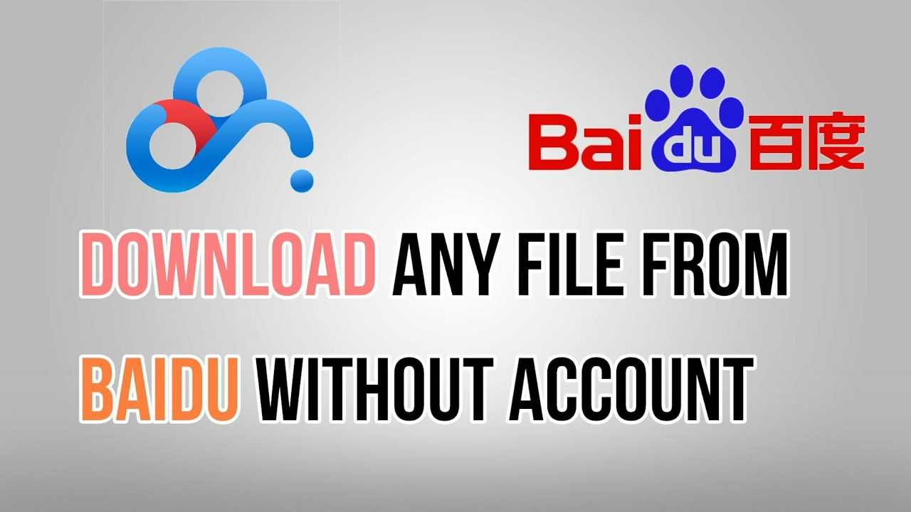 How to download any file from Pan Baidu without account (easy/fast/latest  method)
