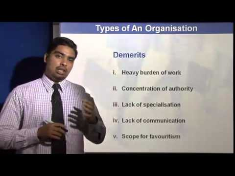 Principles of Management Lectures | The Line and Staff Organisation
