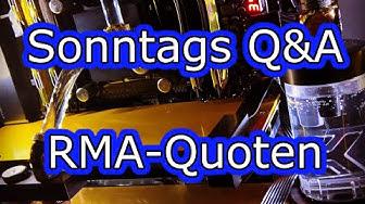 Sonntags Q&A #7: RMA Quoten 2015 (Teil 2)