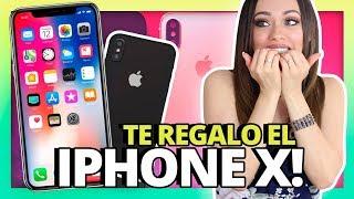 TE REGALO EL NUEVO IPHONE X! | DOS GANADORES! | SORTEO INTERNACIONAL!!!!!