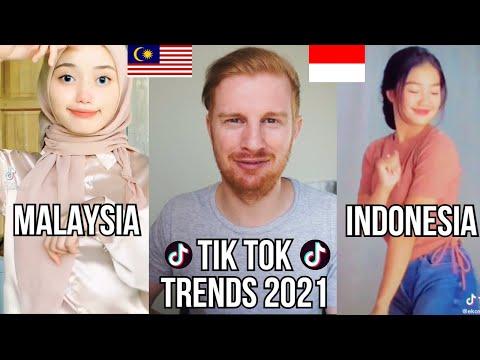 TIK TOK VIRAL TRENDS 2021 (INDONESIA AND MALAYSIA) REACTION