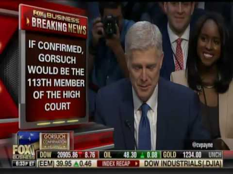 Barbara Smith Discusses Gorsuch Nomination Hearing with Charles Payne