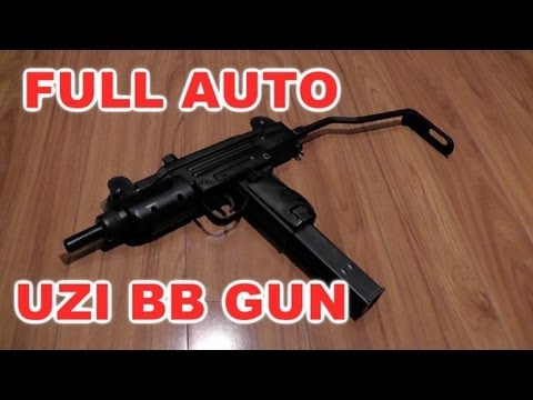 MINI UZI BB Gun (Cybergun)  CO2 Blow Back Review