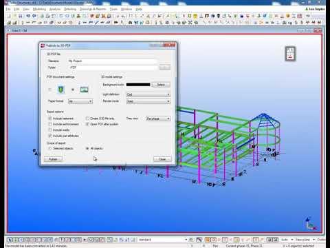 Publish To 3D PDF