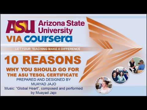 10 Reasons Why You Should Go For The ASU TESOL Certificate