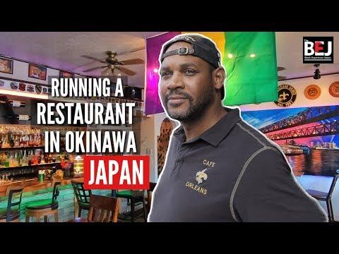 Black Man Runs Successful Restaurant in Okinawa Japan (Black in Japan) | MFiles