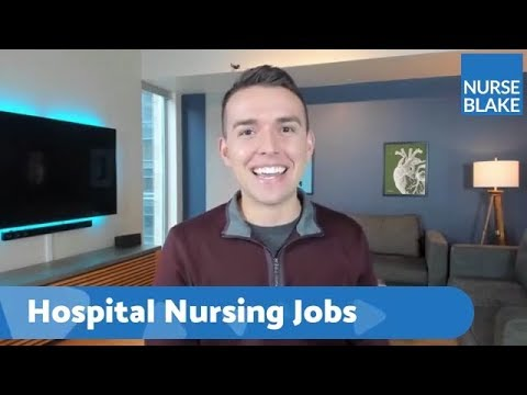 The Best Hospital Jobs - LIVE W/ Nurse Blake