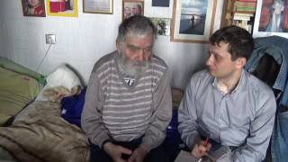 В гостях у Николая Матвеевича Егорова-Поэта,Почетного члена Академии наук Чеченской Республики