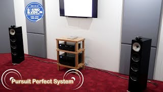 Bowers & Wlkins 702 HiFi Speakers Rotel Demo @ The Bristol Show Sound & Vision 2018