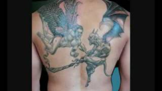 Video Angel And Devil Tattoos - Ideas & Designs download MP3, 3GP, MP4, WEBM, AVI, FLV Juli 2018
