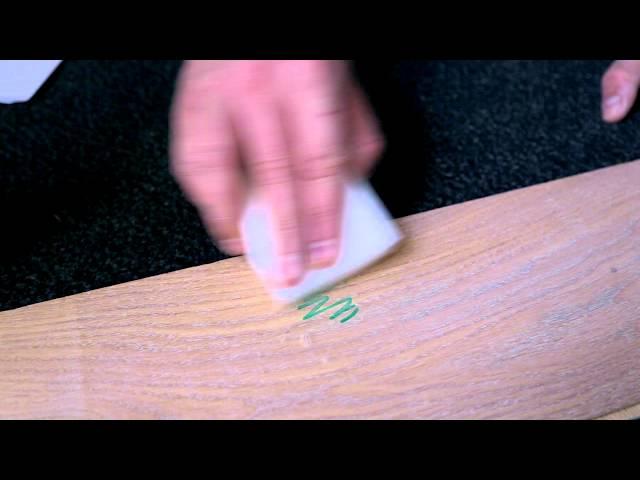 Rubio Monocoat Quicktip como remover permanent marker